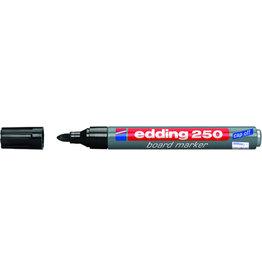edding Boardmarker 250, nachfüllbar, Rundspitze, 1,5-3 mm, Schreibf.: schwarz