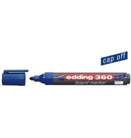 edding Boardmarker 360, Rundspitze, 1,5 - 3 mm, Schreibf.: blau
