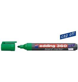 edding Boardmarker 360, Rundspitze, 1,5 - 3 mm, Schreibf.: grün