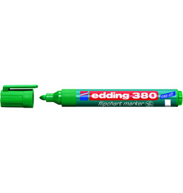 edding Flipchartmarker 380, Rundspitze, 1,5 - 3 mm, Schreibf.: grün