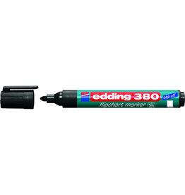 edding Flipchartmarker 380, Rundspitze, 1,5 - 3 mm, Schreibf.: schwarz
