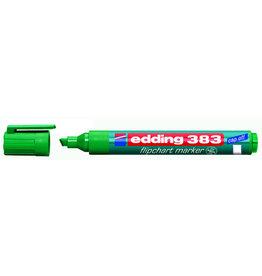 edding Flipchartmarker 383, Keilspitze, 1 - 5 mm, Schreibf.: grün