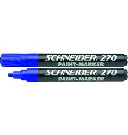 Schneider Lackmarker PAINT MARKER, 270, Rsp., 1 - 3 mm, Schreibf.: blau