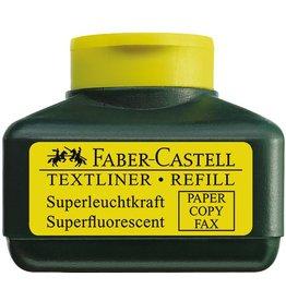 FABER-CASTELL Nachfüllstation 1549, für: Textmarker, Schreibf.: gelb