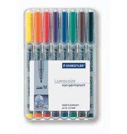 STAEDTLER OH-Stift, Lumocolor® 315, M, non-perm., 1 mm, Schreibf.: 8er so
