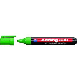 edding Permanentmarker 330, nachf., Ksp., 1-5mm, Schreibf.: grün