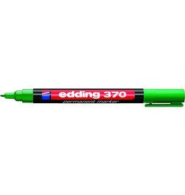 edding Permanentmarker 370, Rsp., 1mm, Schreibf.: grün