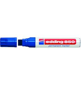 edding Permanentmarker 850, nachf., Ksp., 5-16mm, Schreibf.: blau