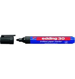 edding Pigmentmarker 30, Rundspitze, 1,5-3 mm, Schreibf.: schwarz