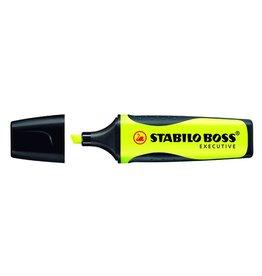 STABILO Textmarker BOSS® EXECUTIVE, Keilspitze, 2 - 5 mm, Schreibf.: gelb