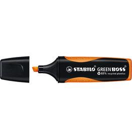 STABILO Textmarker GREEN BOSS®, Keilspitze, 2 - 5 mm, Schreibf.: orange