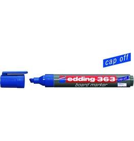 edding Boardmarker 363, Keilspitze, 1 - 5 mm, Schreibf.: blau