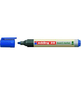 edding Boardmarker, 28, Rsp., 1,5-3 mm, Schreibf.: blau