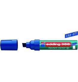 edding Flipchartmarker 388, Einw., Ksp., 4-12mm, Schreibf.: blau