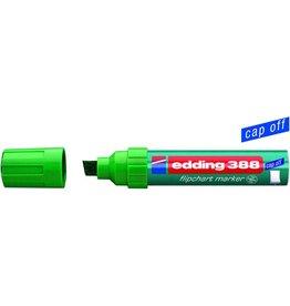 edding Flipchartmarker 388, Einw., Ksp., 4-12mm, Schreibf.: grün