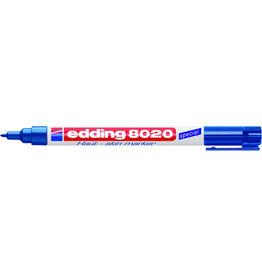 edding Hautmarker 8020, Einw., Rsp., 1mm, Schreibf.: blau