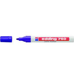 edding Lackmarker, 750, Rundspitze, 2-4mm, Schreibf.: violett