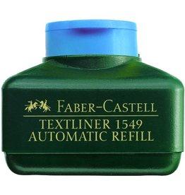 FABER-CASTELL Nachfüllstation 1549, für: Textmarker, Schreibf.: blau