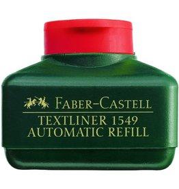 FABER-CASTELL Nachfüllstation 1549, für: Textmarker, Schreibf.: ro