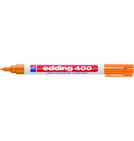 edding Permanentmarker 400, Rundspitze, 1 mm, Schreibf.: orange