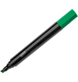 STAPLES Permanentmarker, Einweg, Keilspitze, 1 - 5 mm, Schreibf.: grün