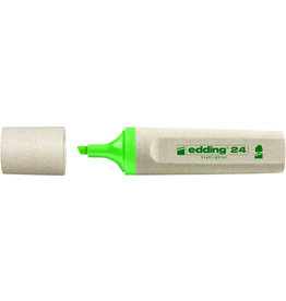 edding Textmarker 24, nachfüllbar, Keilspitze, 2 - 5 mm, Schreibf.: hellgrün