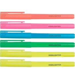 Simply Textmarker, Keilspitze, 1-3mm, Schreibf.: 6er sortiert