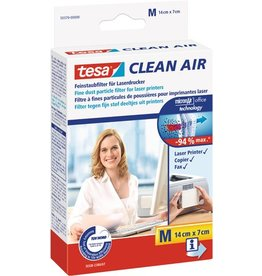 tesa Feinstaubfilter CLEAN AIR, Größe M, 14 x 7 cm
