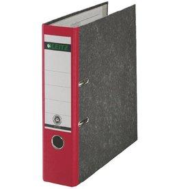 LEITZ Ordner Standard, Karton (RC), A4, 80 mm, 28,5x31,8cm, rot