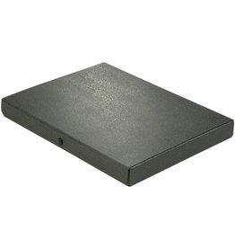 ELBA Dokumentenbox, Hartpappe (RC), A4, Füllhöhe: 3 cm, schwarz