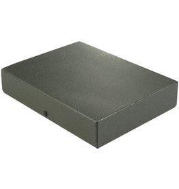 ELBA Dokumentenbox, Hartpappe (RC), A4, Füllhöhe: 6 cm, schwarz