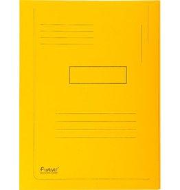 EXACOMPTA Einschlagmappe Forever®, Karton (RC), 2 Klappen, A4, gelb, intensiv