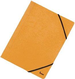 bene Einschlagmappe Vario, Karton, 425 g/m², 3 Klappen, A4, gelb