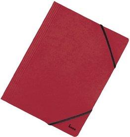 bene Einschlagmappe Vario, Karton, 425 g/m², 3 Klappen, A4, rot