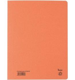 bene Einschlagmappe, Karton (RC), 3 Klappen, A4, für: 250 Blatt, orange