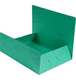 EXACOMPTA Einschlagmappe, Manilakarton, 400 g/m², 3 Klappen, A4, grün