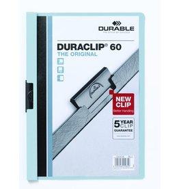DURABLE Klemmmappe DURACLIP®, Hartfolie, A4, für: 60 Blatt, blau