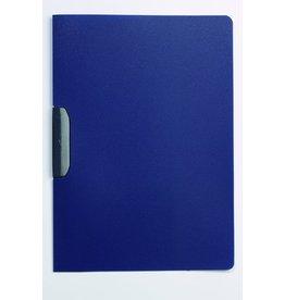 DURABLE Klemmmappe DURASWING®, opaker Vorderd., A4, für: 30 Blatt, dunkelblau