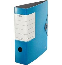 LEITZ Ordner 180° Solid, Polyfoam, Einsteckrückenschild, A4, 82 mm, hellblau