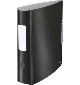 LEITZ Ordner Active Style, Polyfoam, A4, 82 mm, satinschwarz