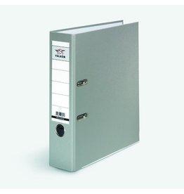 FALKEN Ordner PP-Color, PP-kasch., Einsteckrückensch., A4, 80mm, grau