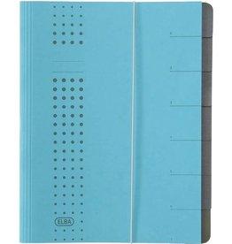 ELBA Ordnungsmappe chic, A4, 25x31,5cm, 7 Fächer, blau