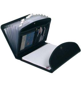 EXACOMPTA Ordnungsmappe Exactive®, PP(RC), A4, 25,5 x 33 cm, 6 Fächer, schwarz