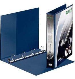 LEITZ Präsentationsringbuch SoftClick, PP, A4, ü, Ring-Ø: 30mm, blau