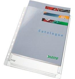LEITZ Prospekthülle Maxi Standard, PVC-Weichfol., o.off., Euroloch., A4
