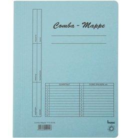bene Schnellhefter Comba-Mappe, Karton (RC), A4, blau