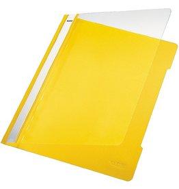 LEITZ Schnellhefter Standard, transp.Vorderd., A4, gelb