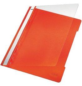 LEITZ Schnellhefter Standard, transp.Vorderd., A4, orange