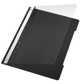 LEITZ Schnellhefter Standard, transp.Vorderd., A4, schwarz