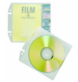 DURABLE Prospekthülle COVER EASY, PP, 2f.Loch., 12,5x12,9cm, für: 1-2CDs